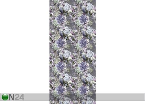 AG Design Fleece-kuvatapetti FLOWERS 2, 53x1000 cm