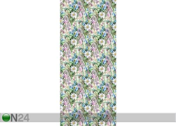 AG Design Fleece-kuvatapetti FLOWERS 6, 53x1000 cm